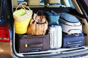 Luggage into Car